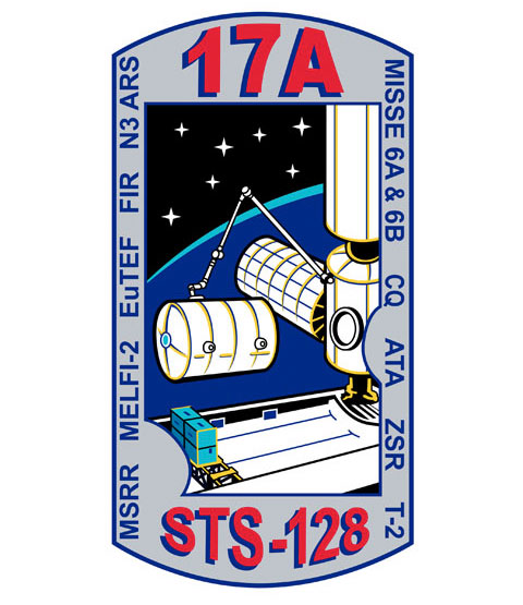 Animation assemblage ISS Sts128_17apatch01