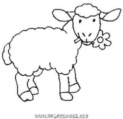 Lif-K - Dessine moi un avenir Normal_18coloriage_mouton