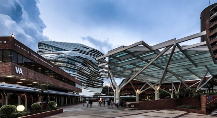 Zaha Hadid vodeći arhitekta sveta i njeni projekti Innovation-Tower-at-Hong-Kong-Polytechnic-University-by-Zaha-Hadid-Architects-s6