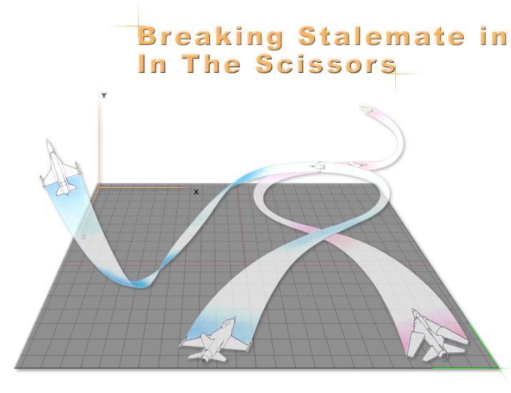 Air-To-Air Tactics Breaking_stalemate_scissors