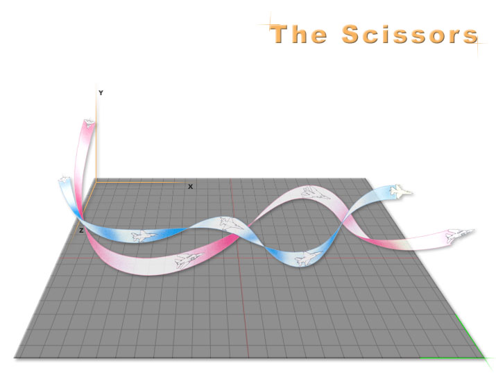 Air-To-Air Tactics Scissors