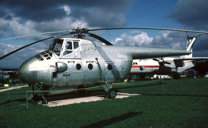 Unión - Mil Mi-4 helicóptero de transporte  ( Unión Soviética ) Mi4a_01