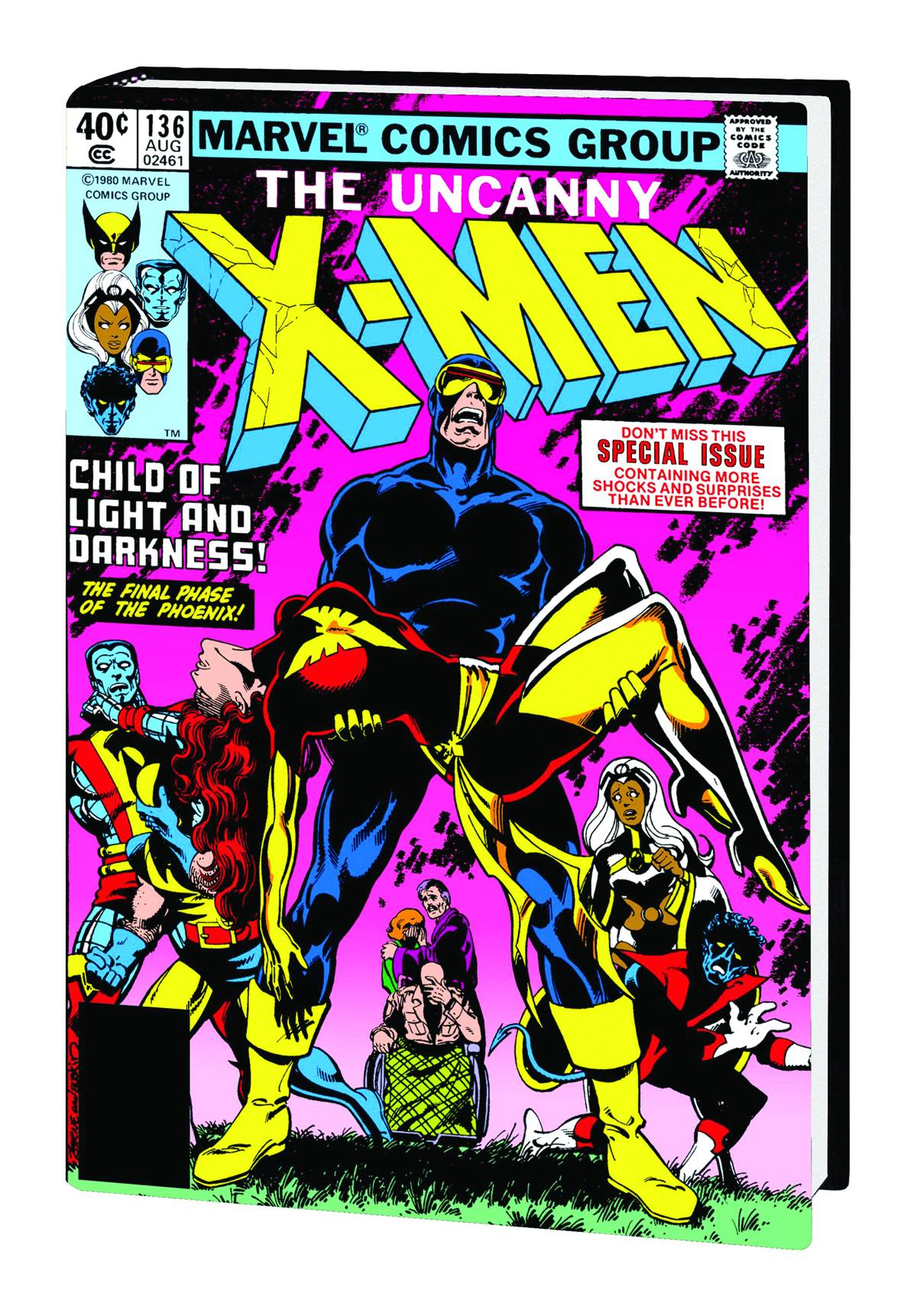Top 5 Histórias em Quadrinhos X-men-dark-phoenix-saga-hc