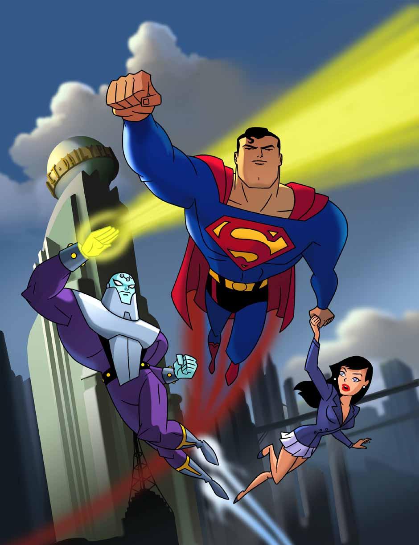 SUPERMAN ANIMATED DVD Superman