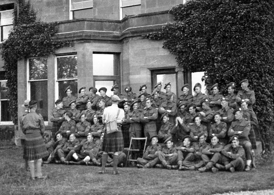 Kilts militaires WWII Jke015