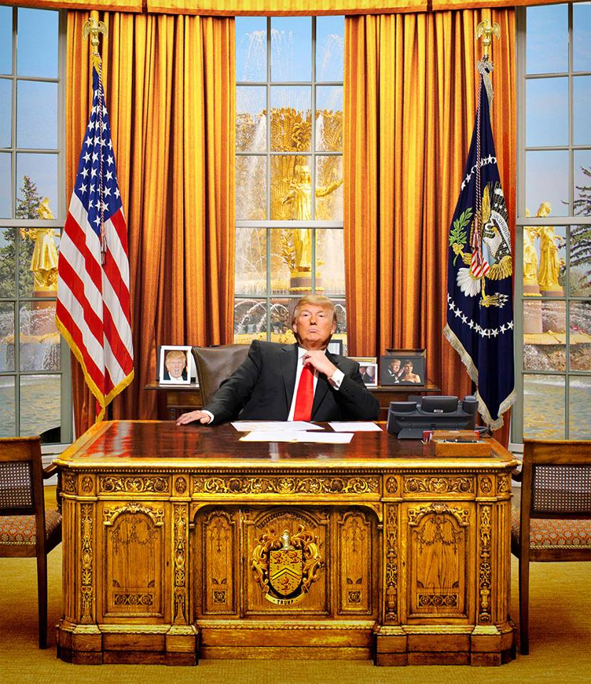 Donald Trump for President of the USA Trump-In-The-Oval-Office