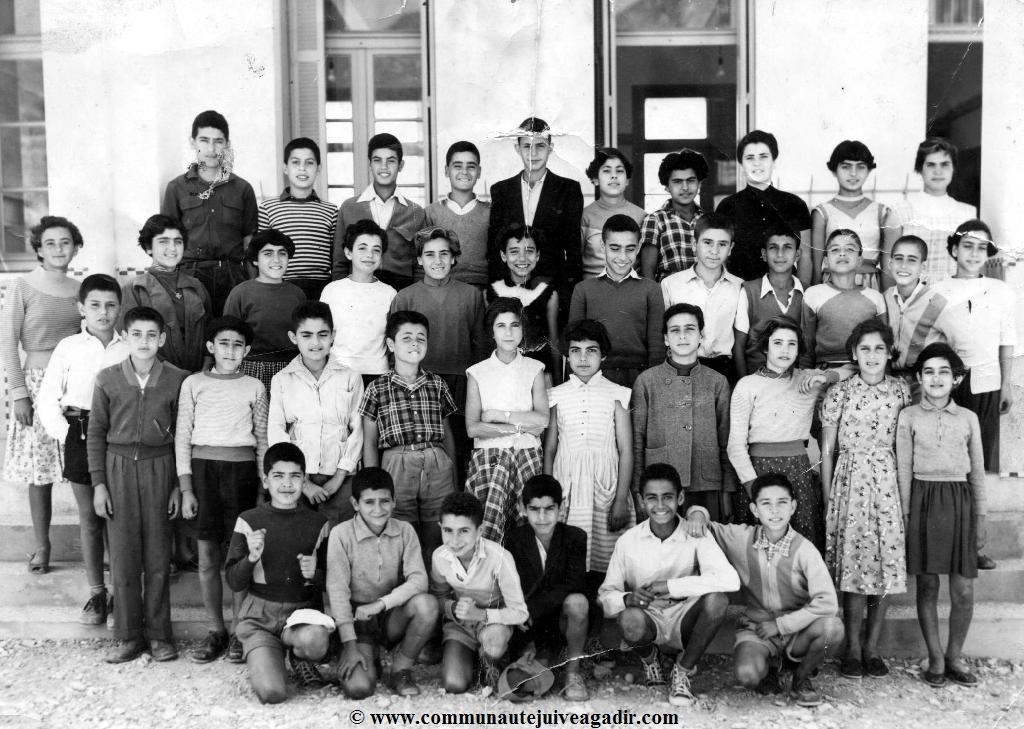 ECOLE DE L'ALLIANCE D'AGADIR AllianceCM2_1955-HTML