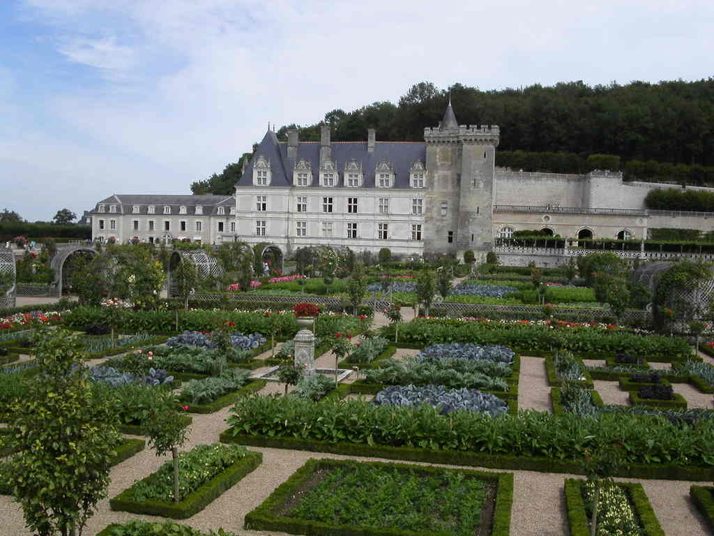 Inspiration, les jardins a la Francaise Villandry_8954_Chateau-de-Villandry-et-ses-jardins