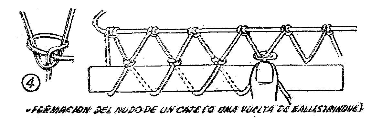 Aguja para redes Manualidades-con-MALLA-Como-hacer-BOLSAS-DE-MALLA-4