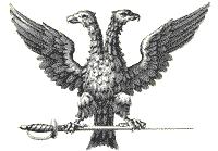 Signification deux têtes d'aigles surmontée d'une couronne AigleREAA