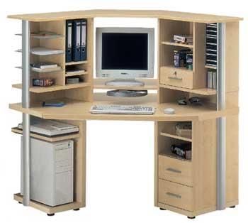 اجمل طاولات الكمبيوتر   Furniture123-computer-powerline-corner-desk-with-storage