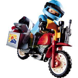 Sable et Graviers Playmobil-adventure-motor-cross-bike