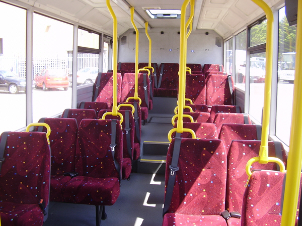 Optare Solo Bus Mx06acy_int_back