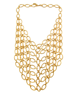 Accesorios de moda: collares, siempre vigentes Collares-babero