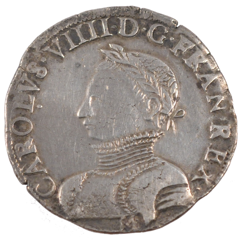 Charles IX  teston de quel type ? 24829_charles-teston-avers