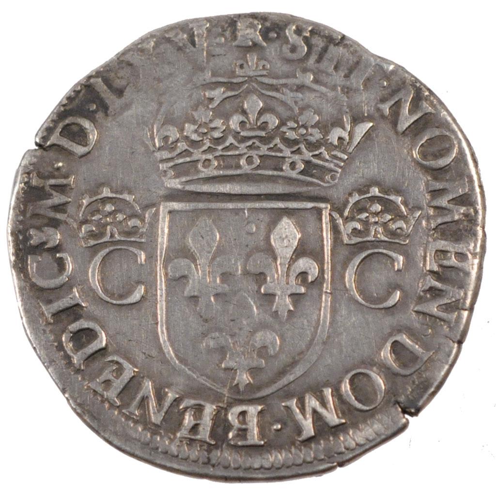 Charles IX  teston de quel type ? 24829_charles-teston-revers