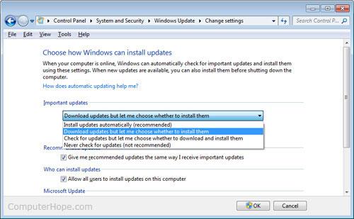trustedinstaller là gì? Windowsupdate