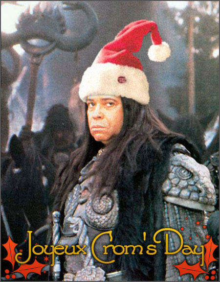 Merry Christmas Conan Fans! Cromsday