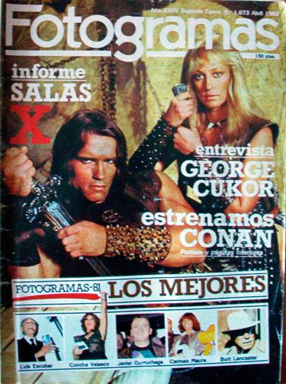 Las revistas españolas que hablan de Conan ConanA22_12