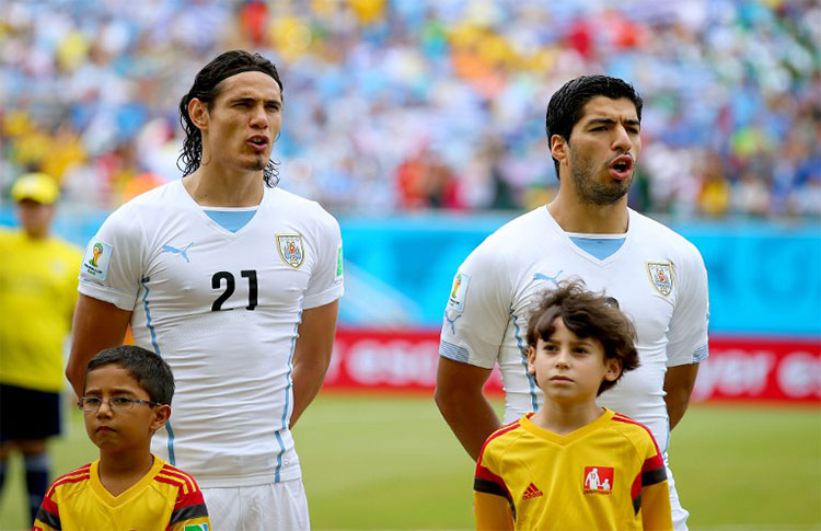 ¿Cuánto mide Edinson Cavani? - Altura - Real height Cava