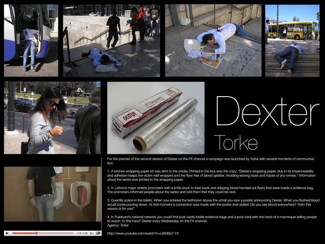 Street Marketing et Pub .... les plus belles images Dexterblood