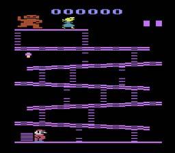 Histoire du jeux vidéo - Page 2 Donkey_Kong_2600_ScreenShot1