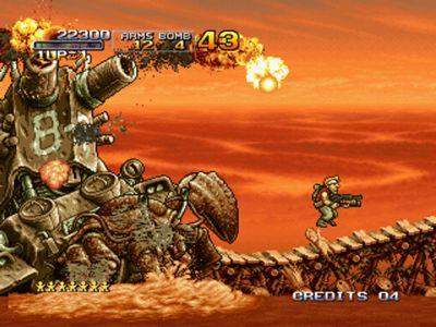 25 videojuegos míticos en Flash Metal-slug