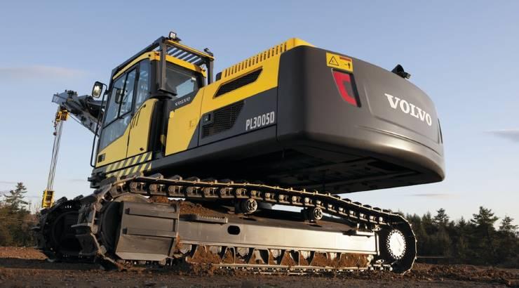 macchine movimento terra industriali heavy equipment Volvo-PL3005D
