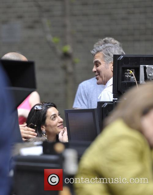 George Clooney on location: Money Monster NYC April 18, 2015 Lenny-venito-george-clooney-amal-clooney-jack-oconnell-jody-foster-amal-clooney_4684643