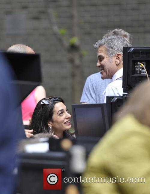 George Clooney on location: Money Monster NYC April 18, 2015 Lenny-venito-george-clooney-amal-clooney-jack-oconnell-jody-foster-amal-clooney_4684645