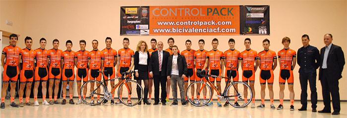 CONTROLPACK VOLVERÁ A TENER LA PLANTILLA MÁS EXTENSA  Equipo-ControlPack-2014-2