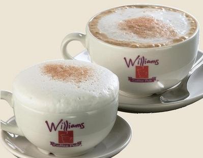 TASSES DE CAFE WilliamsLattes