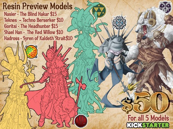 Wrath of King Resin-Preview