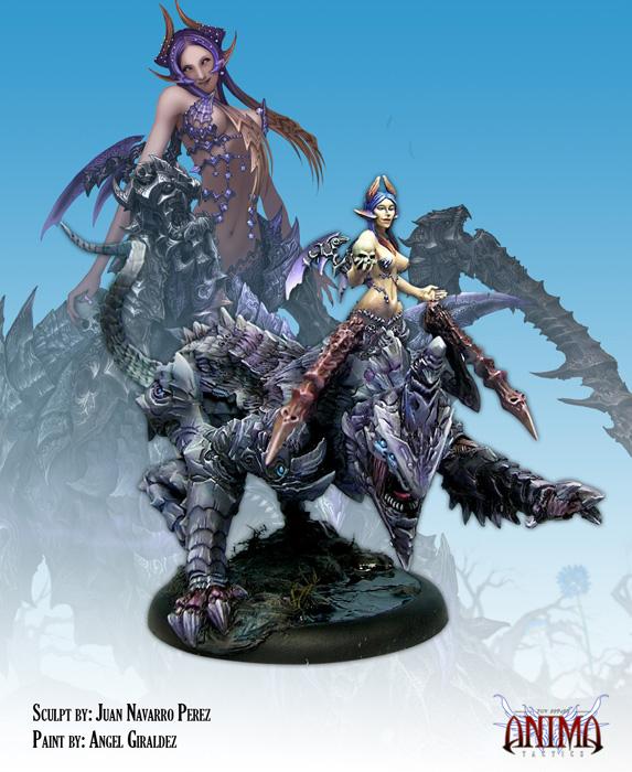 figurines peintes dans chaque faction Cs2036