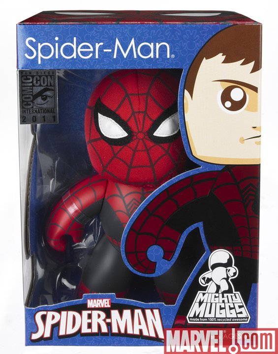 [HASBRO] Spider-Man and The Avengers Special Edition Mighty Mugg - SDCC Exclusive  SDCCspideyMugg1