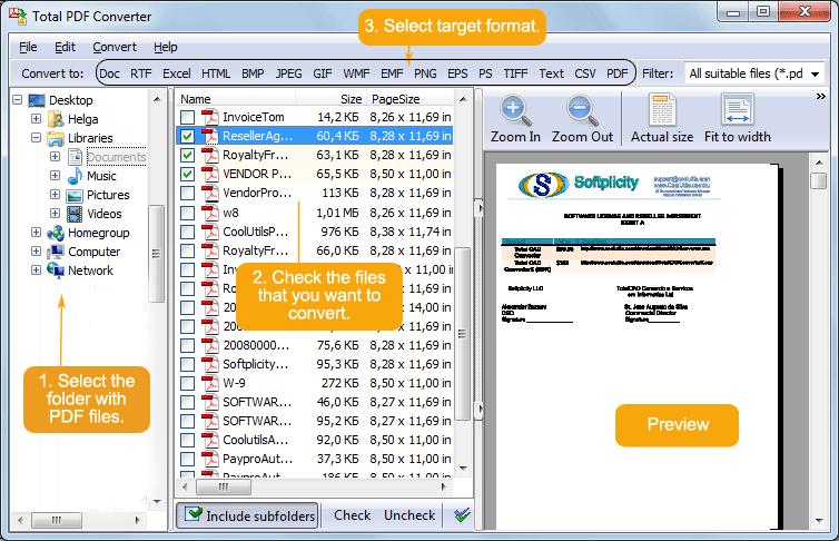 Coolutils Total PDF Converter 5.1.59 / به سایر فرمت ها PDF مبدل فایل  TotalPDFConverterMain