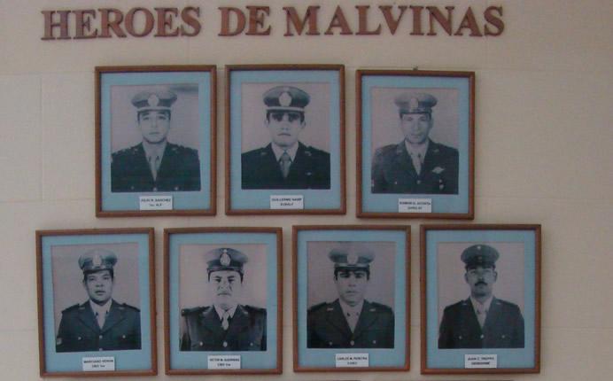 Escuadron Alacran de Gendarmeria Nacional en Malvinas. Arton1931