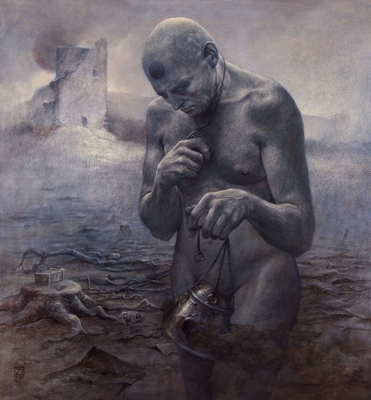 El arte gótico y oscuro de Zdzislaw Beksinski Darius