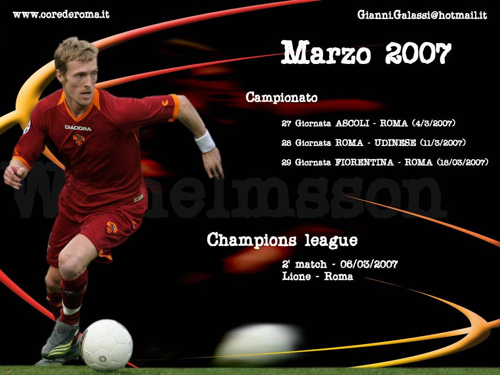 Calendrier Série A 20070307marzo