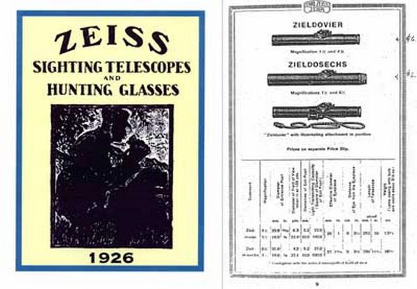 L'arme du tireur d'élite allemand de la wehrmacht (1939-1945) : Mauser 98K Zeiss%201926
