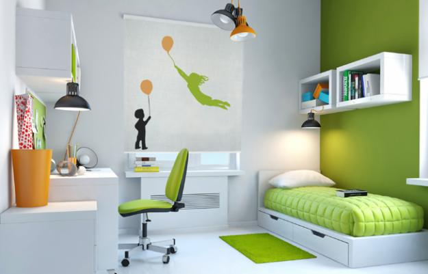 MI  DECORACIÓN  IDEAL EN  VERDE Bo-estampado