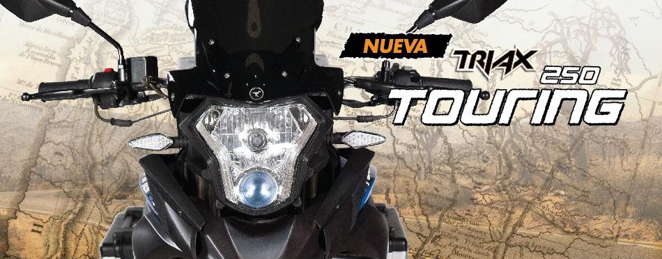 Solicitar opiniones sobre la Corven 250 Triax Touring. 20150714152321_56844200_1436898201_corven_motos_banner5_l