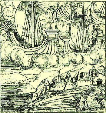 """""""Le Livre des prodiges"""" Conrad Lycosthène 1557 M21272c"""