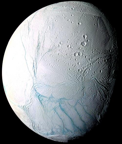 L'océan se confirme sur Encelade Encelade
