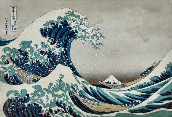 [Règle n°0] Concours de production artistique : Saison 5 : Semaine 21 : Rôles inversés - Page 7 HokusaiVague