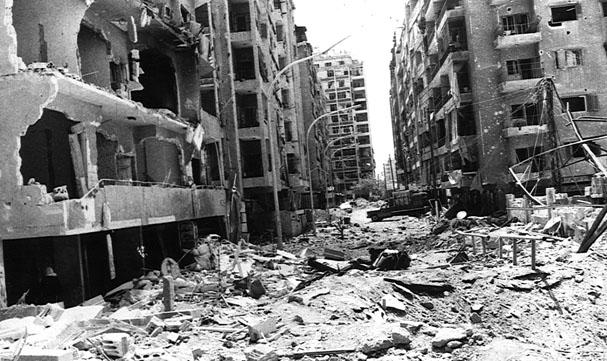 scènes de combat (armée libanaise, palestinien, chrétien...) Sy01_06a