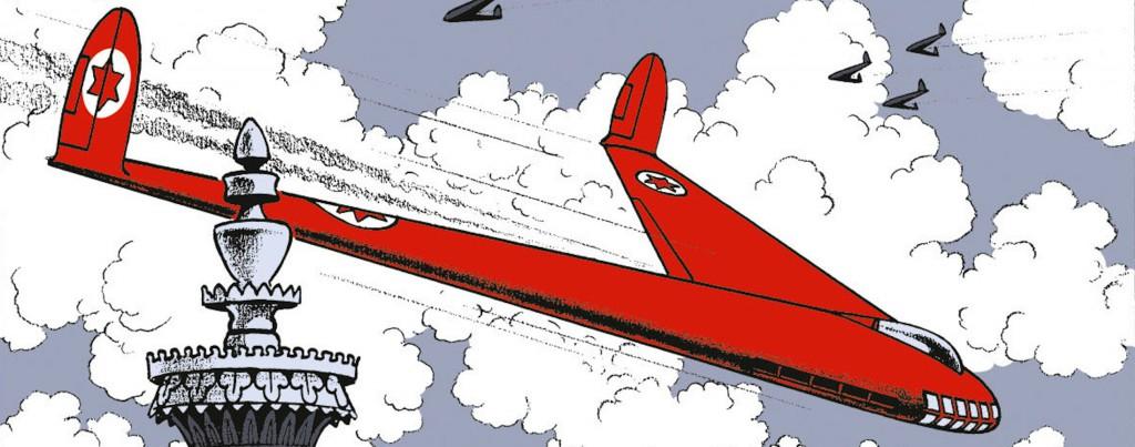 Les géants des airs : Northrop YB-49 [Italeri 1/72] - Page 3 Blake-et-mortimer-secret-espadon-jacobs-prestige