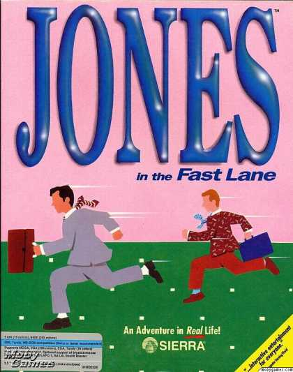 [FINALIZADA] Miércoles, 22 de Mayo. Jones in the Fast Lane (PC + Proyector) 1026-1