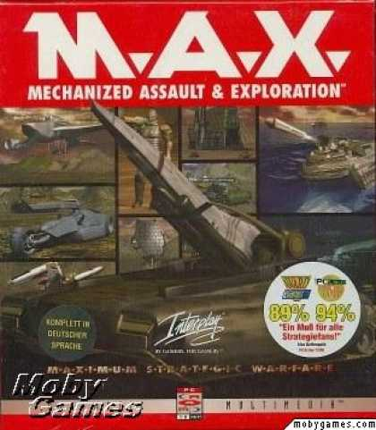 M.A.X.: Mechanized Assault and Exploration (1 et 2) 1235-1