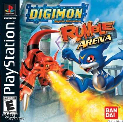Tổng hợp Game Digimon Dòng máy Play Station 1 196-1